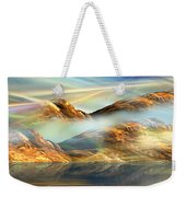 And The Light Shines On And On And On... Weekender Tote Bag