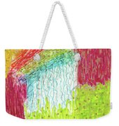 And The Rain Came Weekender Tote Bag
