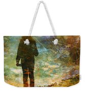 And Then He Turned Her World Upside Down Weekender Tote Bag