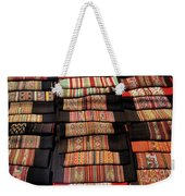 Andean Textile Market Weekender Tote Bag