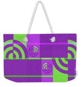 Andee Design Abstract 4 Of The 2016 Collection Weekender Tote Bag