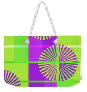Andee Design Abstract 5 Of The 2016 Collection  Weekender Tote Bag by Andee Design