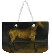 Andre Theodore Gericault   A Horse Frightened By Lightning Weekender Tote Bag