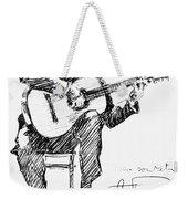 Andres Segovia Weekender Tote Bag