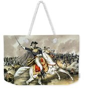 Andrew Jackson At The Battle Of New Orleans Weekender Tote Bag