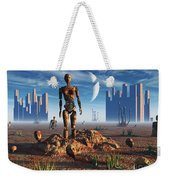 Android Fossils Preserved Weekender Tote Bag