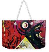 Andromeda Galaxy Weekender Tote Bag by John Jr Gholson