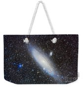 Andromeda Galaxy With Companions Weekender Tote Bag