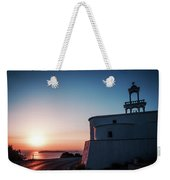 Andros Island Sunset - Greece Weekender Tote Bag