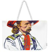 Andy Warhol, General Custer, Cowboys And Indians Series Weekender Tote Bag