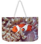 Anemone And Clown-fish Weekender Tote Bag