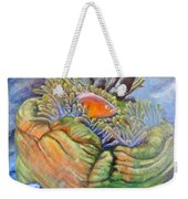 Anemone Coral And Fish Weekender Tote Bag