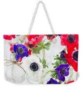 Anemone Flowers  Weekender Tote Bag