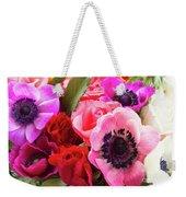 Anemones And Roses Weekender Tote Bag