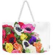 Bouquet Of Anemones Weekender Tote Bag