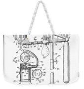 Anesthetic Machine Patent 1919  Weekender Tote Bag