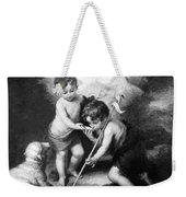 Angel - Angels With White Lamb Weekender Tote Bag