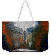 Angel Abstract  Weekender Tote Bag