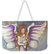 Angel And Baby Weekender Tote Bag