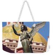 Angel And Cathedral Weekender Tote Bag
