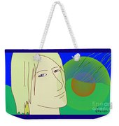 Angel And The Light Weekender Tote Bag