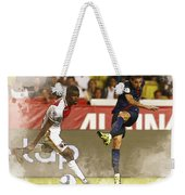Angel Di Maria Shoot The Ball Weekender Tote Bag