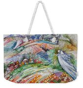 Angel From Jacob's Ladder Weekender Tote Bag