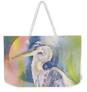 Angel Heron Weekender Tote Bag
