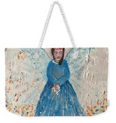 Angel In Blue Weekender Tote Bag