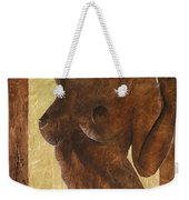 Angel In Gold Weekender Tote Bag