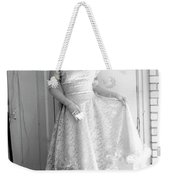 Angel In My Backyard Weekender Tote Bag