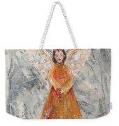 Angel In Orange Weekender Tote Bag