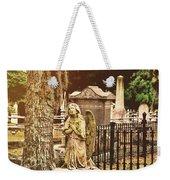 Angel In Stone Weekender Tote Bag