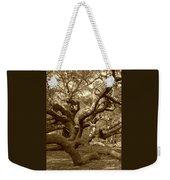 Angel Oak In Sepia Weekender Tote Bag
