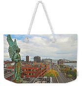 Angel Of Old Montreal Weekender Tote Bag