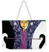 Angel Of Ying Yang Weekender Tote Bag