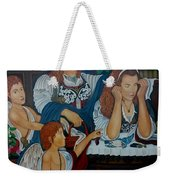 Angel On Clouds Weekender Tote Bag