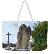 Angel On Graveyard Weekender Tote Bag
