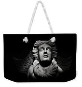 Angel On The Wall Weekender Tote Bag