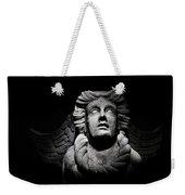 Angel On The Wall Weekender Tote Bag