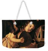 Angel Playing Music Weekender Tote Bag