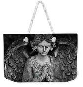 Angel Praying Weekender Tote Bag