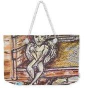 Angel Protecting Home Weekender Tote Bag