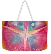 Angel Shining On Your Path Weekender Tote Bag
