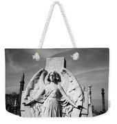 Angel With Outspread Wings And Other Angels In The Background Weekender Tote Bag