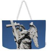 Angel With The Cross Weekender Tote Bag