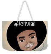 Angela Davis #2 Weekender Tote Bag