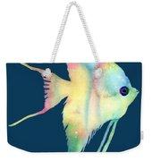 Angelfish I - Solid Background Weekender Tote Bag