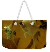 Angelfish Reflections Weekender Tote Bag