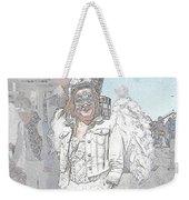 Angelic Goth Weekender Tote Bag